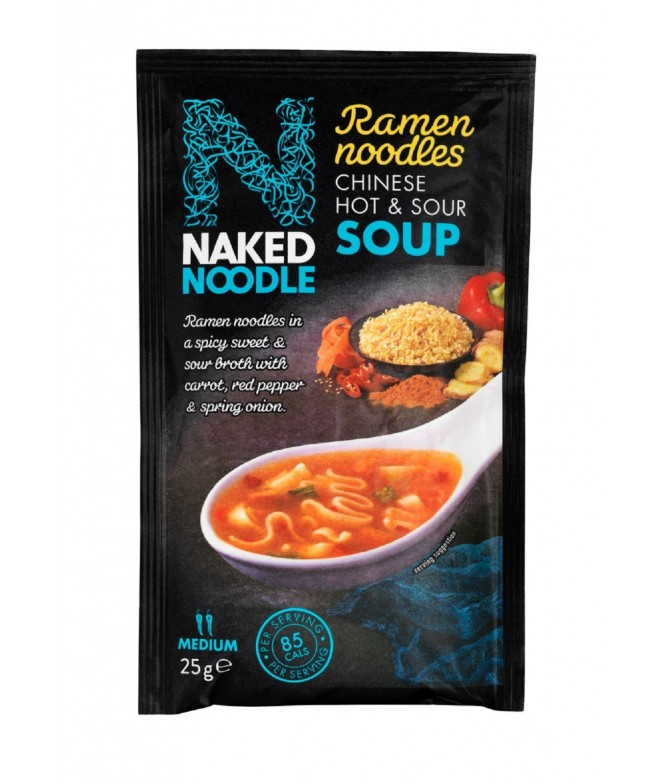 Naked Noodle Sopa Chinesa Picante Agridoce 25gr