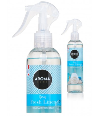 Aroma Home Ambientador Spray Fresh Linen 300ml