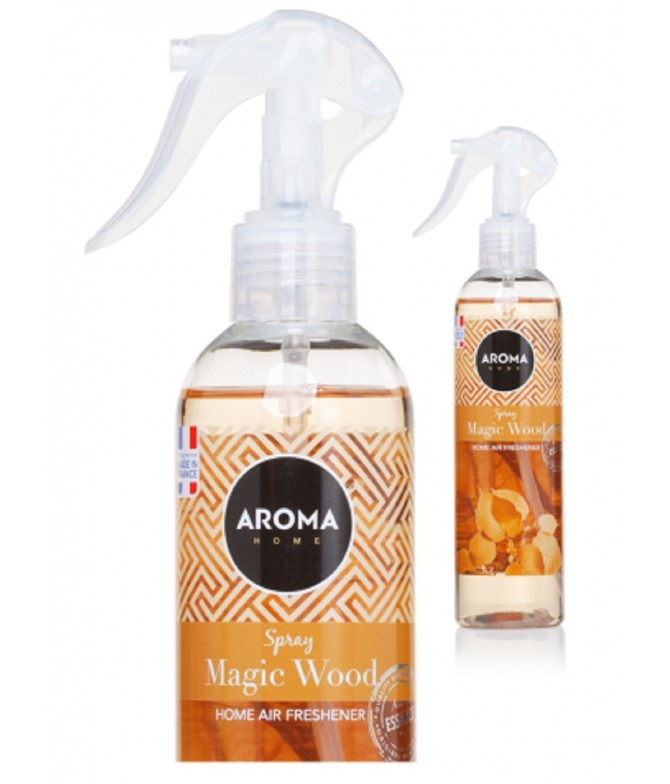 Aroma Home Ambientador Spray Magic Wood 300ml