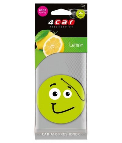 Ambientador Auto 4Car Emo Lemon