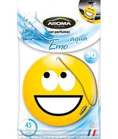 Ambientador Auto Aroma Car Emo Aqua