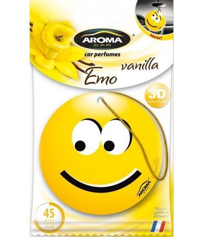Ambientador Auto Aroma Car Emo Vanilla