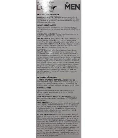 Daen Crema Depilatoria HOMBRE 150ml