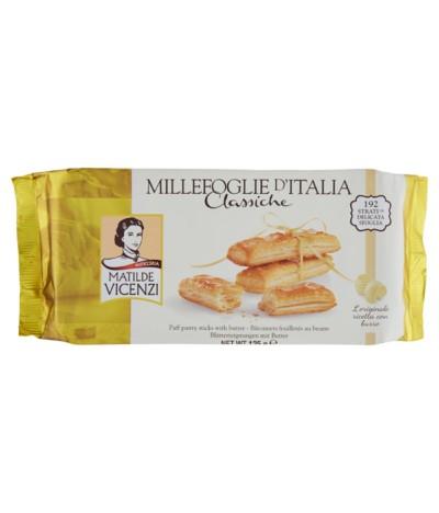 Vicenzi Mil Folhas com Manteiga 125gr