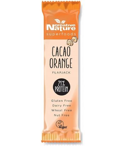 Barrita Proteína Naranja Cacao 40gr