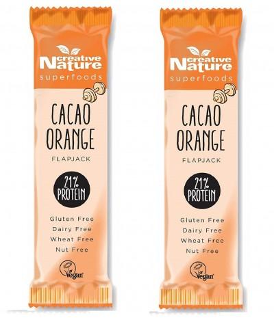 PACK 2 Barrita Proteína Naranja Cacao 40gr