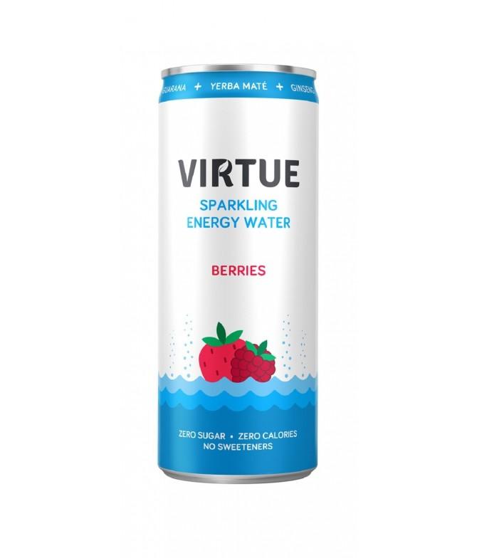 Virtue Agua Energética Frutos Rojos 250ml
