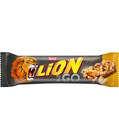 Nestlé Lion 2 Go Barritas Cacahuete 33gr