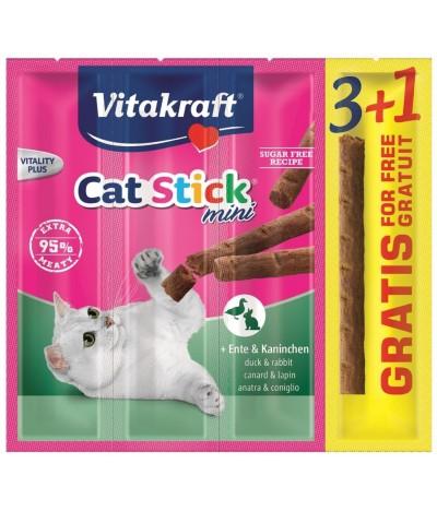 Cat Stick Mini Pato e Coelho 3+1