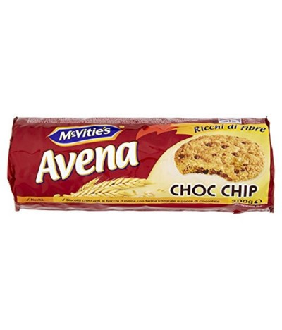 McVities Bolacha Aveia Choc Chip 300gr