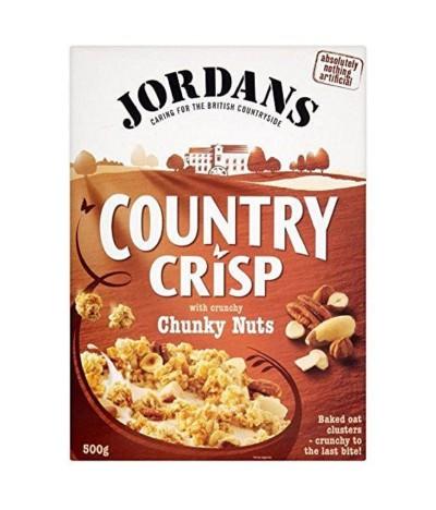 Jordans Cereais Country Crisp Chunky Nuts 500gr