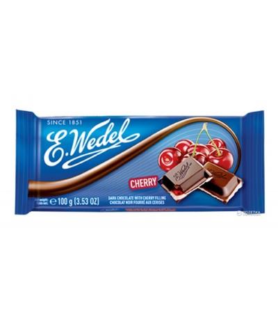 E. Wedel Chocolate & Cereza 100gr