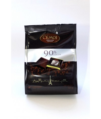 Cémoi Chocolate Preto 90% 125gr