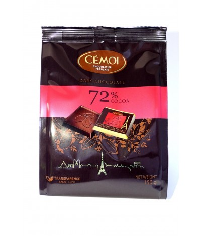 Cémoi Chocolate Negro 72% 150gr