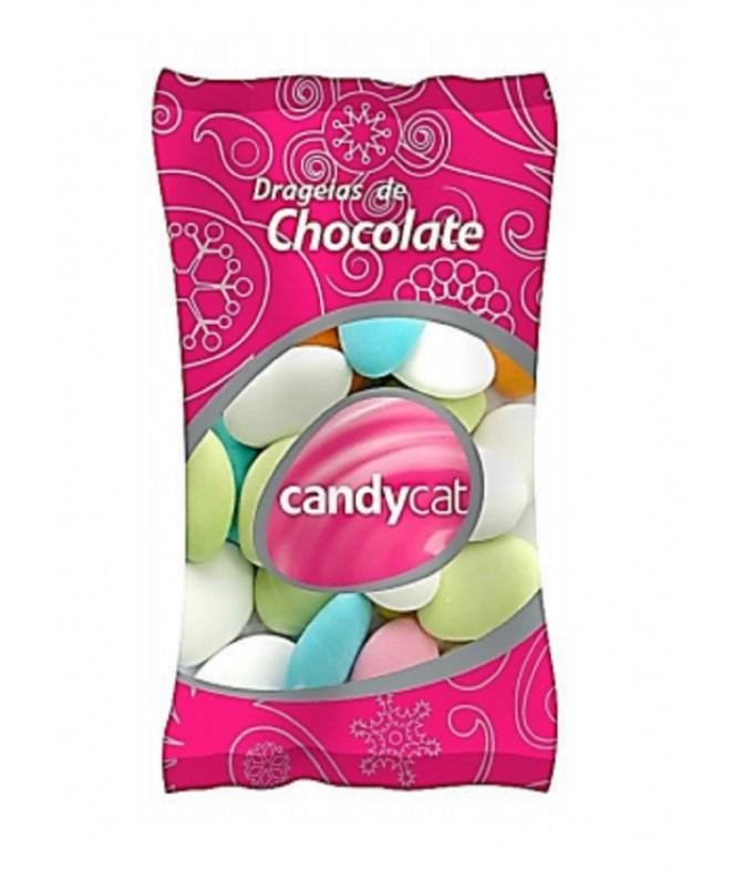 Candycat Drageias Chocolate 150gr