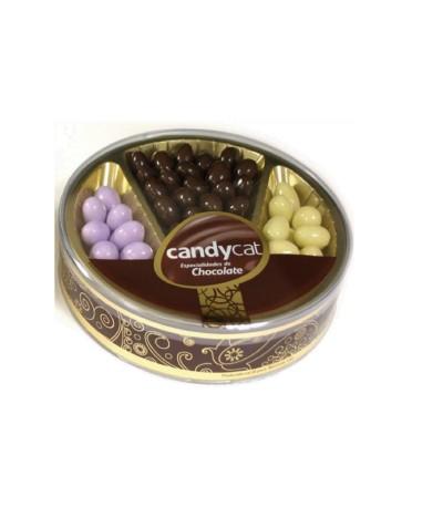 Candycat Mix Amêndoas Chocolate 210gr