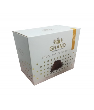 Grand Belgian Trufas Cacao & Caramelo Salado 200gr