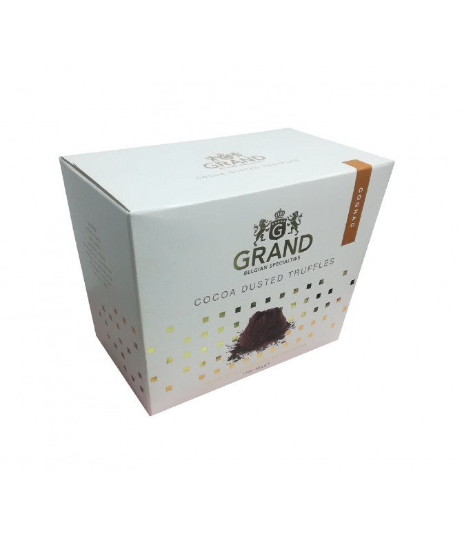 Grand Belgian Trufas Cacao & Coñac 200gr