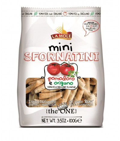 Mini Sfornatini Palitos de Pan sabor Pizza 100gr