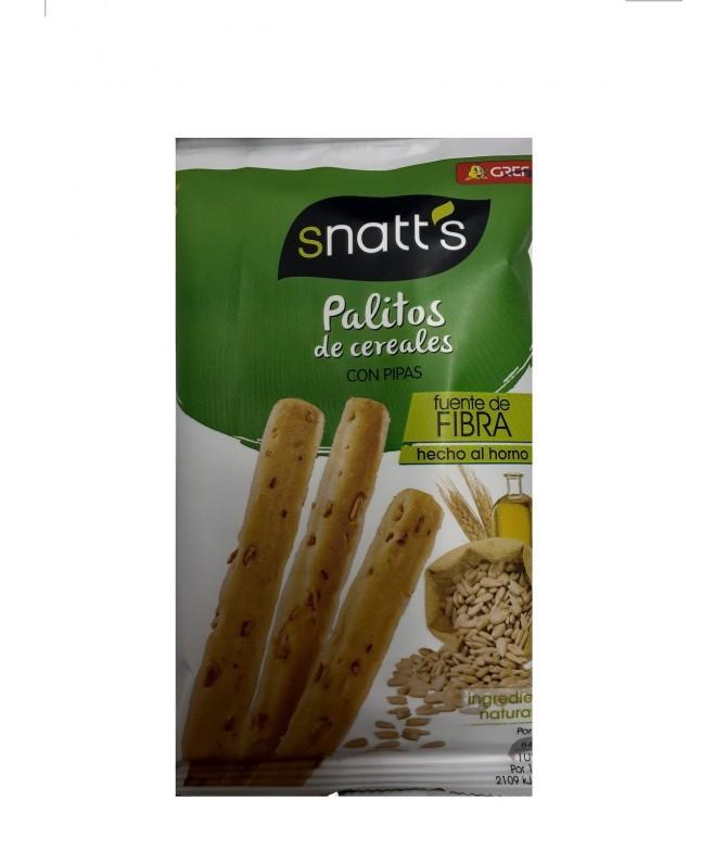 Snatts Palitos Pão com Pipas 40gr