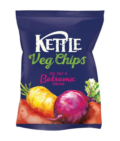 Patatas Fritas Sal Marina & Vinagre Balsámico Kettle