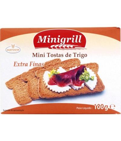 Minigrill Tostas Trigo Normais 100gr