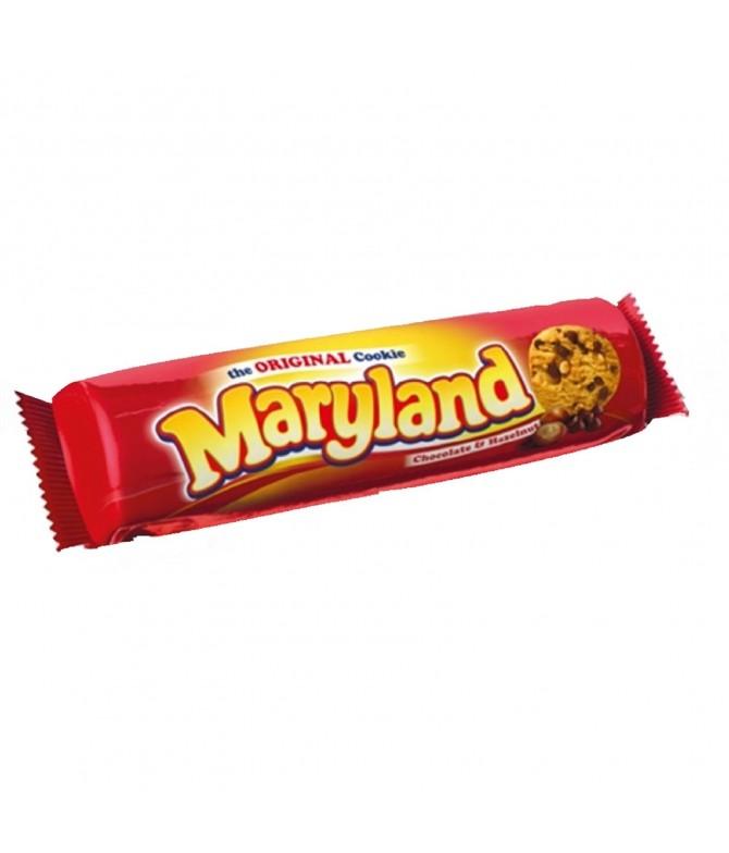 Bolachas Maryland Avelãs e Chocolate
