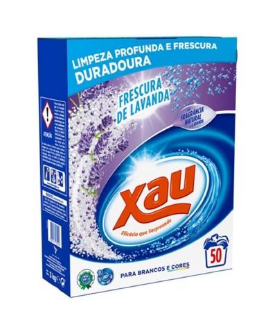 Xau Detergente Roupa Pó Lavanda 50d