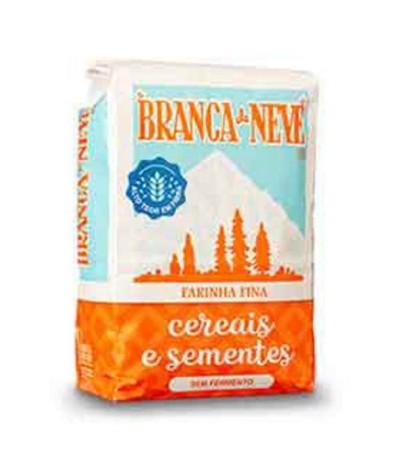 Branca de Neve Farinha Cereais & Sementes 500gr