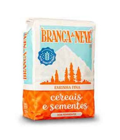 Branca de Neve Harinha Cereales y Semillas 500gr