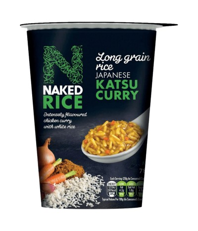 Naked Rice Chicken Katsu Curry 78gr