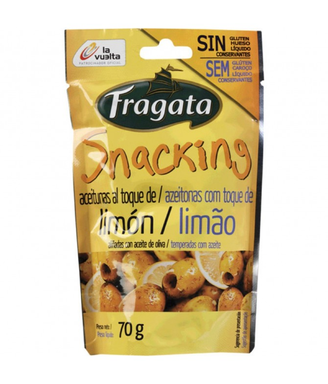 Fragata Oliva Verde Touch Lemon 70gr