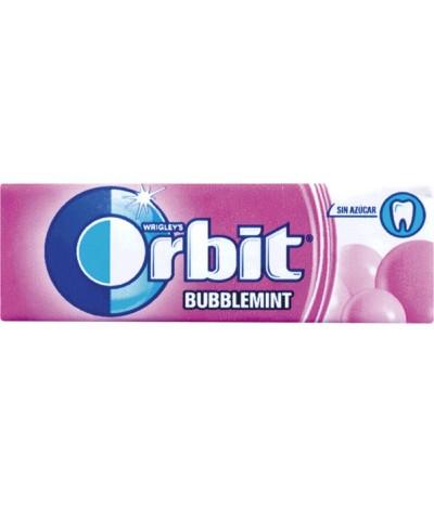 Orbit Pastilha Elástica Bubblemint 30un