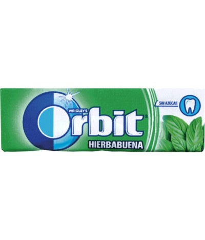 Orbit Pastilha Elástica Spearmint 30un