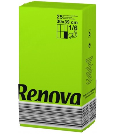 Renova Guardanapo Black Label VERDE 2F 25un