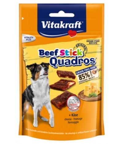 Vitakraft Beef-Stick Quadros Queso PERRO 70gr