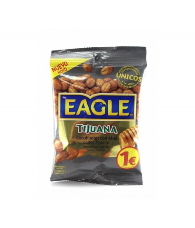 Amendoins com Mel Sabor Tijuana  Eagle