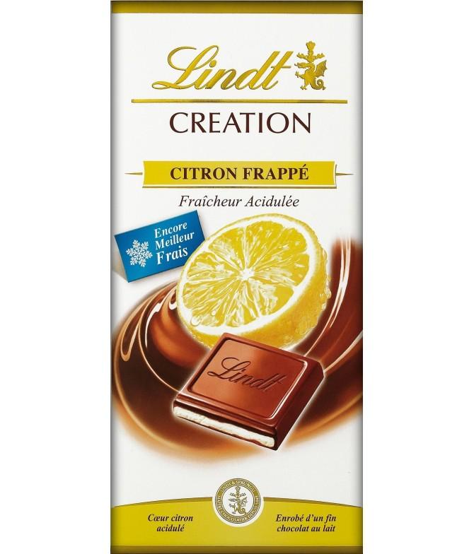 Chocolate de Leite Creation Limão Lindt