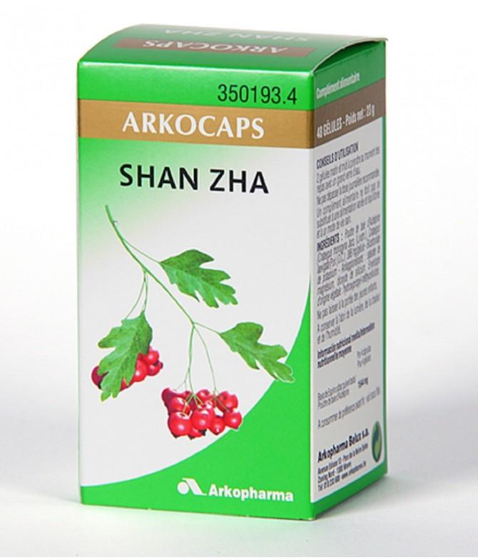 Arkocápsulas Shan Zha 45un