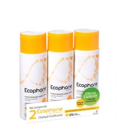 Biorga Ecophane Champô Fortificante 3x200ml