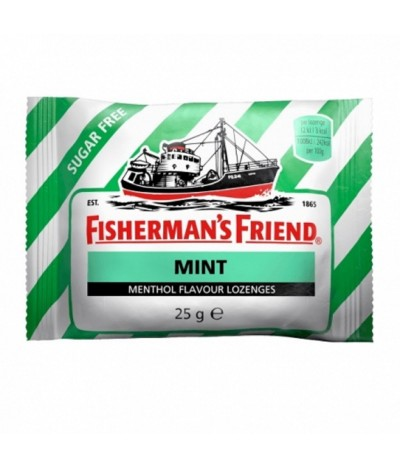 Fishermans Friend Rebuçado Menta 25gr