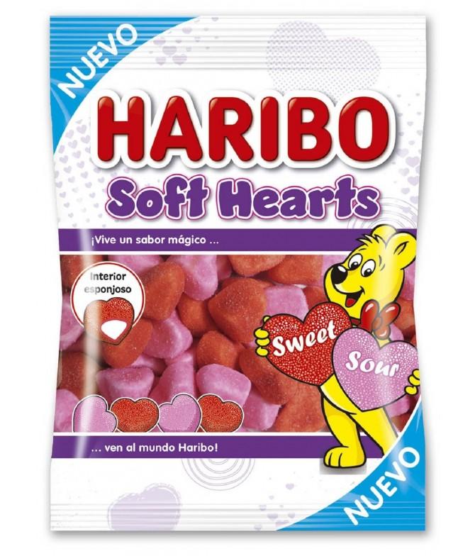 Haribo Gomas Soft Hearts 80gr