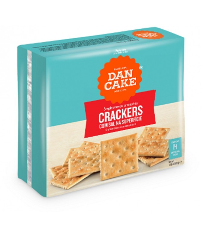 Dancake Crackers Con Sal 500gr
