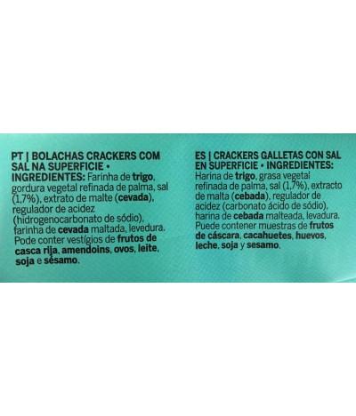 Dancake Crackers Com Sal 500gr