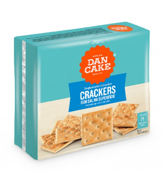 Dancake Crackers Sem Sal 500gr