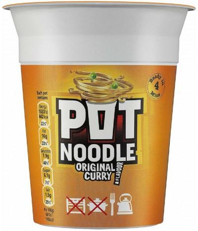 Pot Noodle Original Caril 90gr