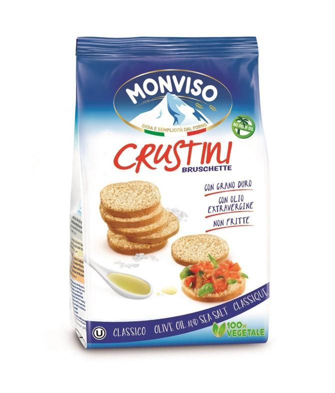 Monviso Crustini Aceite & Sal Marina 120gr