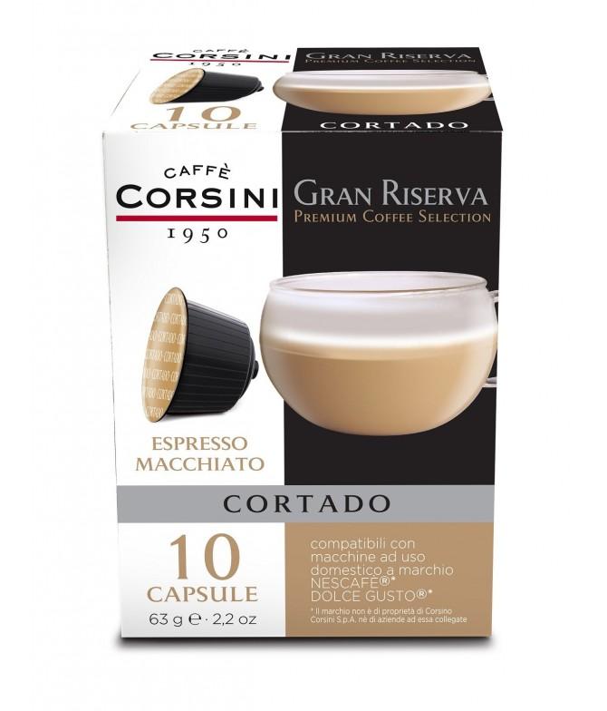 Caffè Corsini Expresso Macchiato Dolce Gusto 10un
