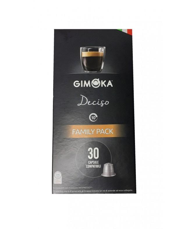 Gimoka Café Deciso para Nespresso 30un