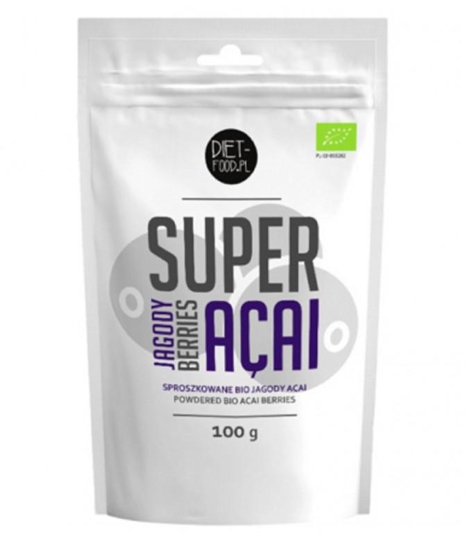 Diet-Food Super Açaí em Pó BIO ANTIOXIDANTE 100gr